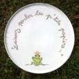 assiette porcelaine personnalisée