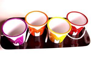 pots porcelaine personnalisée