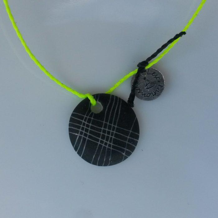 bracelet porcelaine noir mat