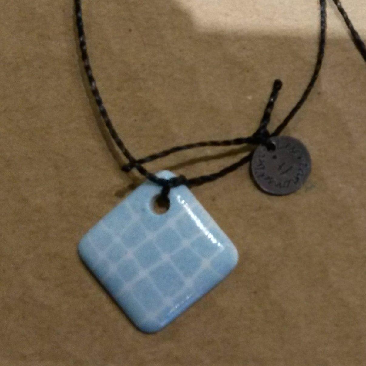 bracelet porcelaine bleu ciel