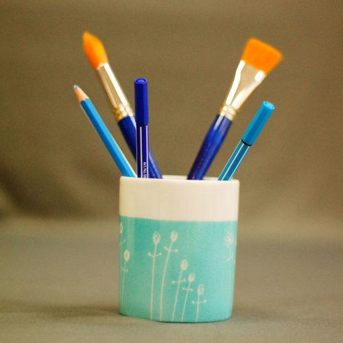pinceaux pour la peinture sur porcelaine, cours et ateliers