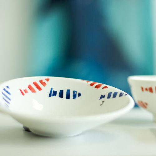 coupelle-porcelaine-collection-aquatic-poisson-peintmain